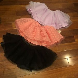 Gymboree tutu skirts
